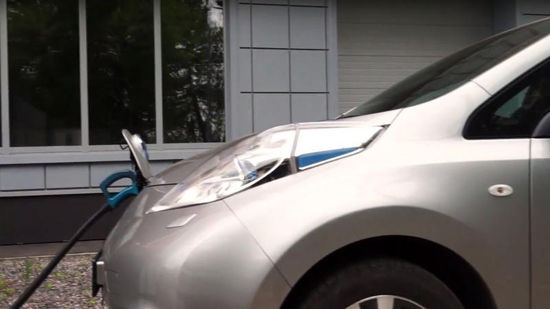 Видеообзор vc.ru: тест-драйв Nissan Leaf