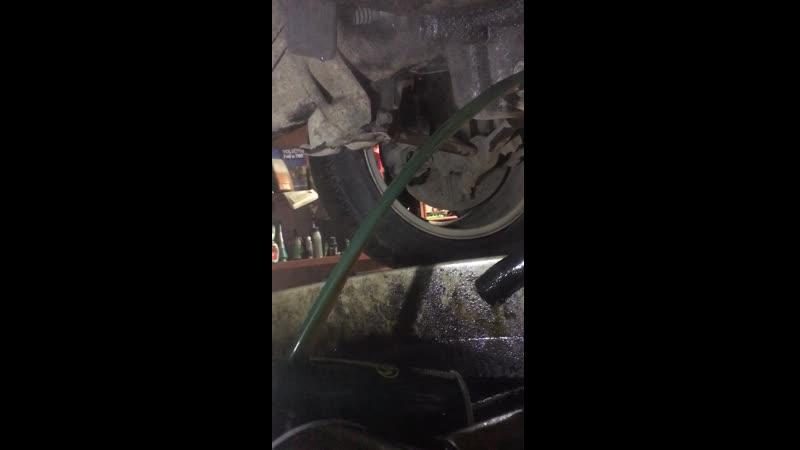 Промывка мотора ч10