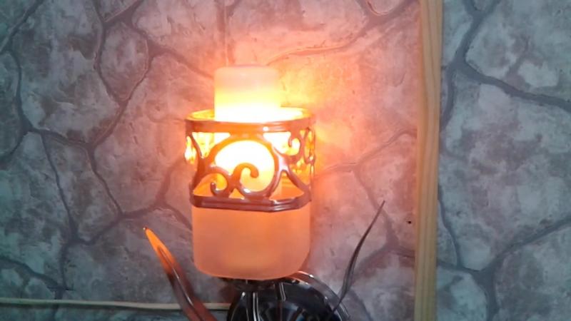 лампочка-пламечко