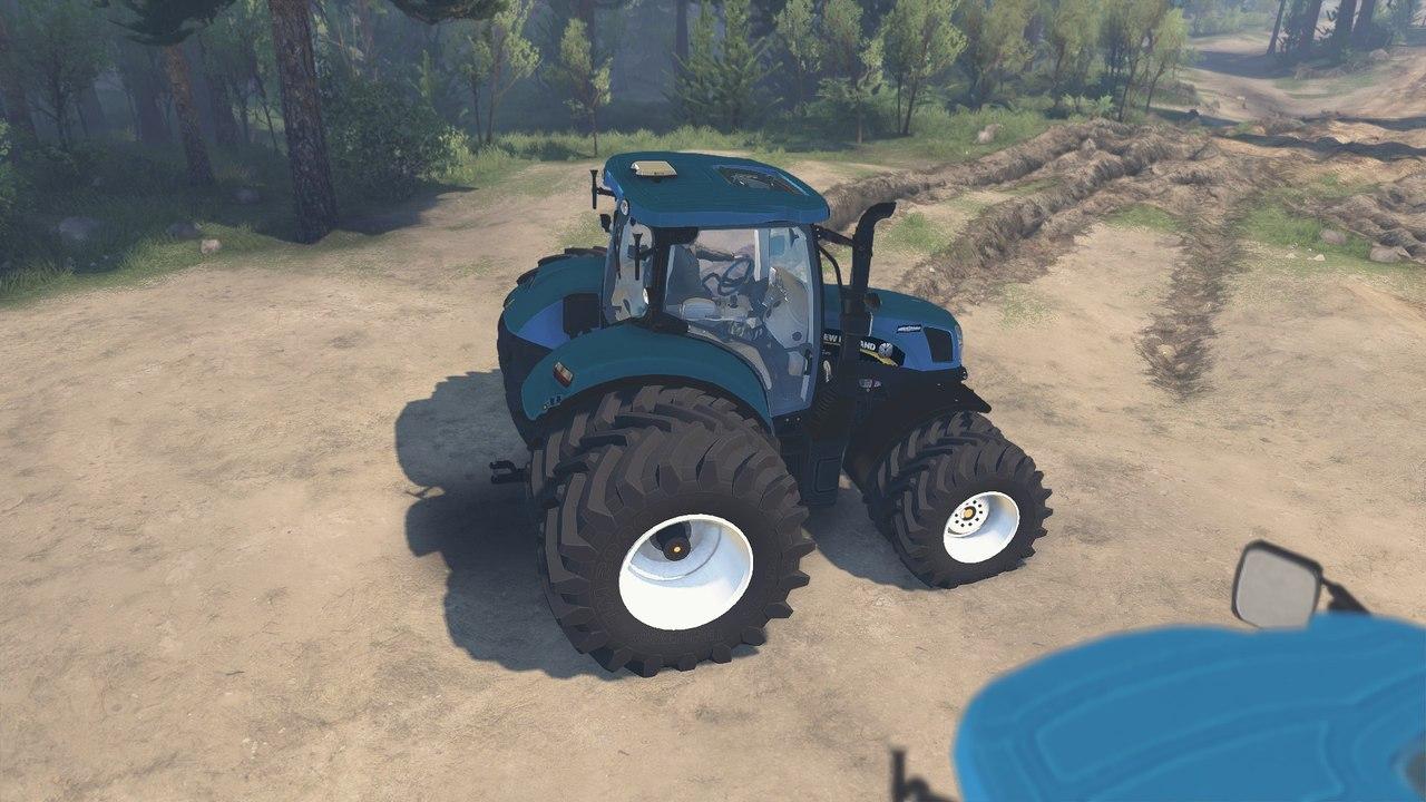 "Трактор ""Holland T6160"" для 25.12.15 для Spintires - Скриншот 1"