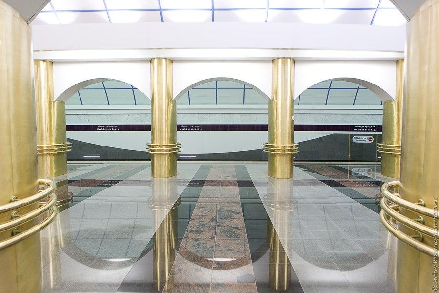 Метро Международная новая станция Санкт-Петербург Фрунзенская 5 линия
