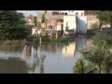 Вриндаван - красивый ролик о подъеме уровня воды в Ямуне