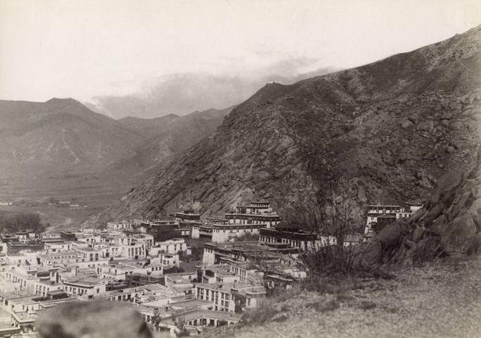 Запрещенные снимки Тибета 1900 года