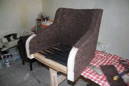 Переделать кресло в кресло-кровать
