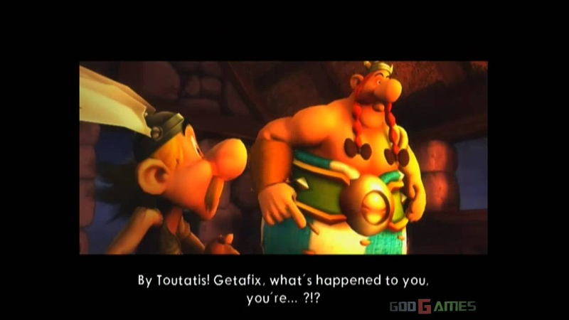 Asterix at the Olympic Games Gameplay Wii Original Wii