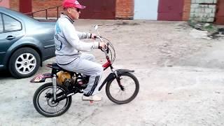 Мотосамокат МЕТЛОФФ.двухколёсный,тест-драйв.