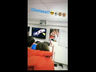 Slavia praga dressing room reactions to the chelsea draw earlier.. - - captioning purchase