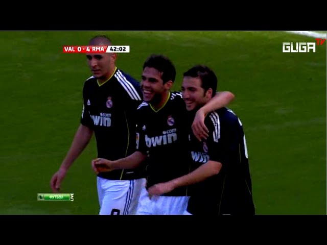 Valencia vs Real Madrid 3-6 - Liga BBVA 2010/2011 - Full Highlights