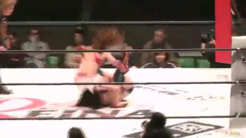 6. Tsukasa Fujimoto (c) vs. Maki Narumiya (122615)