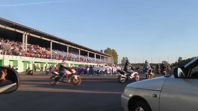 Ковров 18 мая Парад мотоциклов
