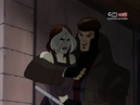 Gambit and Rogue - X-men Evolution Best Quality
