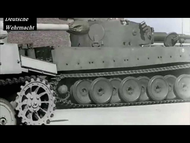 Tiger, Panther und StuG Produktion rare color