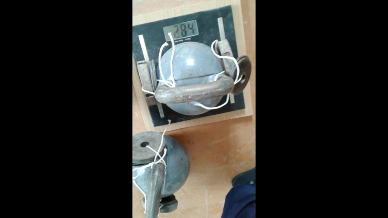 Гири - 28,4kg 28,1kg на бицепс строго у стены. Для турнира в группе ☆ГИРЕВОЙ СИЛАЧ☆ С/в - 92,3kg.