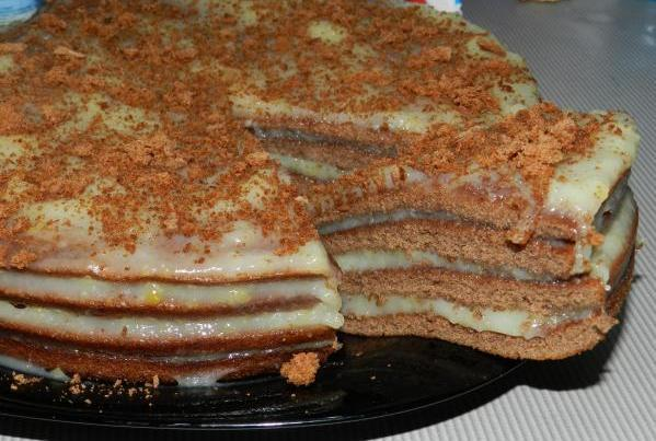 Тортик легко и быстро рецепт с фото