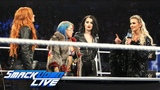 Becky Lynch, Charlotte Flair &amp Asuka make their TLC Match official SmackDown LIVE, Dec. 4, 2018