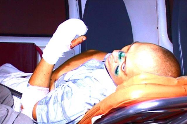 Таганрогские врачи спасли украинского военного от ампутации ноги