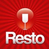Логотип Resto: все о ресторанах Владивостока