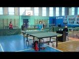 настольный теннис финал Черноусов Евгений (Губкин) - Солонинка Дмитрий (Харьков)1999-2001 года