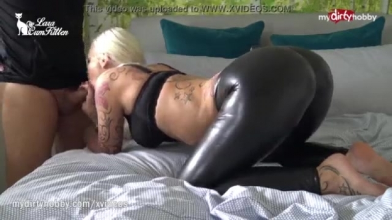 My Dirty Hobby - Busty ass fucked in leather pants.mp4