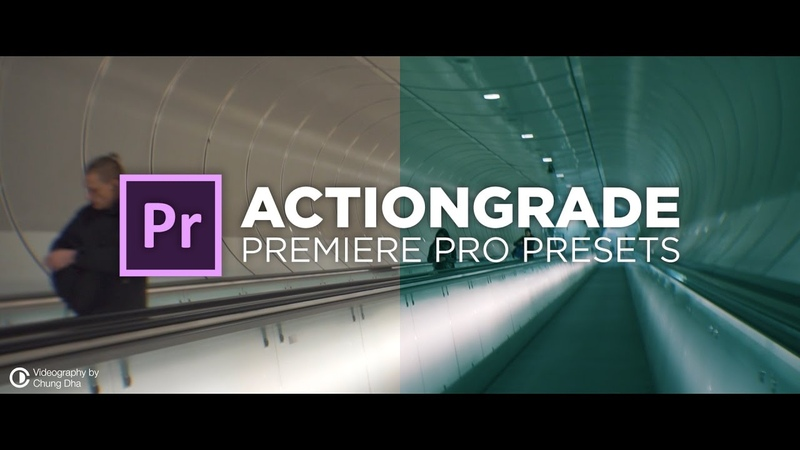 ActionGrade Preset Grading Tutorial for Premiere Pro by Chung Dha