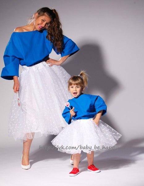 Фатиновая юбка для мамы и дочки своими руками 35