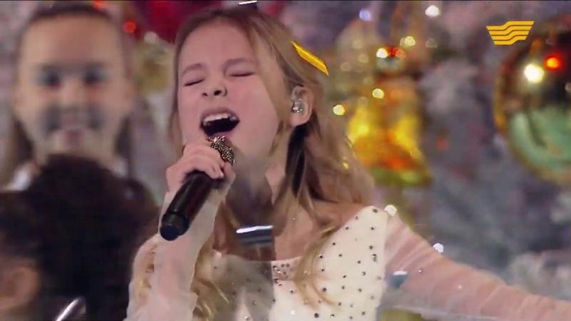 Daneliya Tuleshova Данэлия Тулешова All I want for Christmas is you Mariah Carey cover