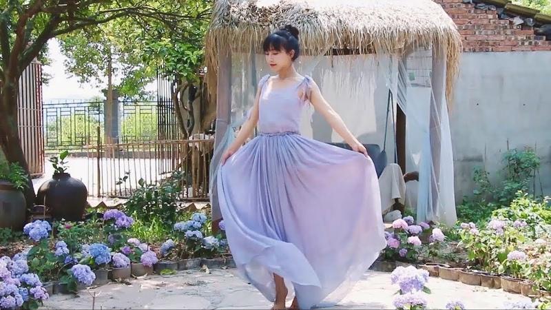 《Lý Tử Thất 》李子柒 Tự nhuộm vải bằng vỏ nho