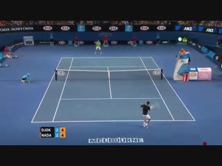 Its all setup for another ausopen classic. - - immerse yourself in what is to come by reli