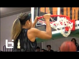 Zhané Dikes RISES For The Dunk!!!(With Some Help) USF Hoopsfest Highlights