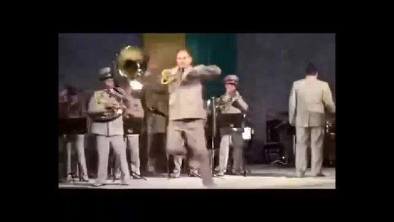 Neon Genesis Evangelion opening by Ukrainian military band