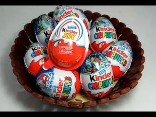 Kinder Joy - Surprise Eggs Unboxing. Киндер Joy яйцо с сюрпризом - 1 из 10 киндер сюрпризов