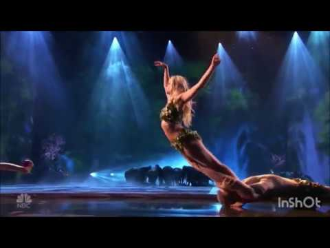 Zurcaroh tells epic Adam Eve story Delivers Incredible Flips On Stage America's Got Talent 2018