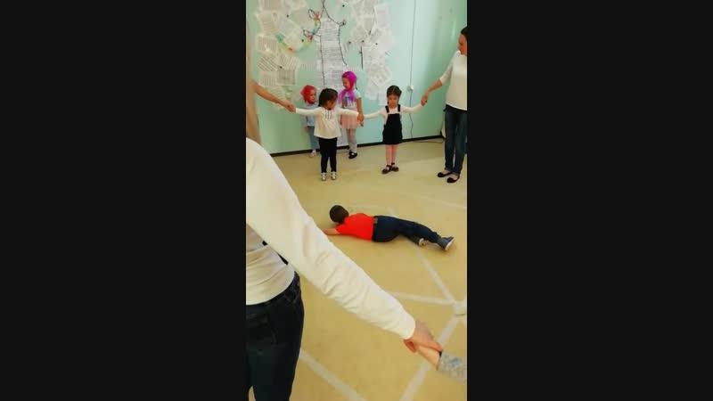 Как на тоненький ледок театрализация с малышами 3 4