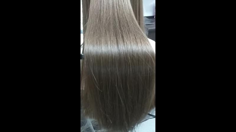 Кератиновое выпрямление волос для любимых клиентов кератинволосыстрижкаукладкаокрашиваниеконотоплюблюсвоюработу