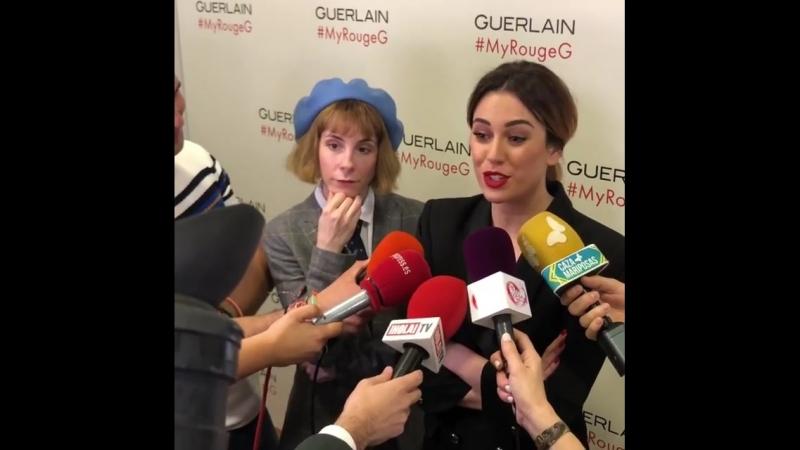 """Blanca_suarez cuando a @mario_houses como """"gracioso, majo, guapísimo, que está buenísimo...."""" La actriz no desmiente su relació"""