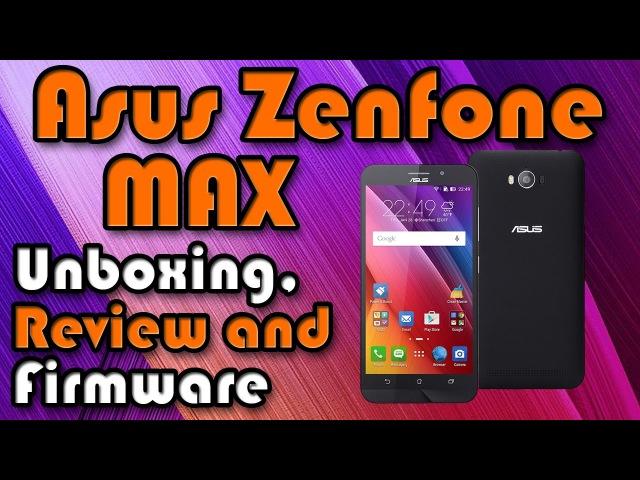 Asus Zenfone Max Pro - распаковка, прошивка и сравнение с обычной версией. Тест Antutu и CPU-Z.