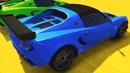 Мультики про Машинки для Детей Мультики про Спортивные Машинки для Мальчиков Цветные Машинки.