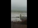 Шторм пляж на 73км