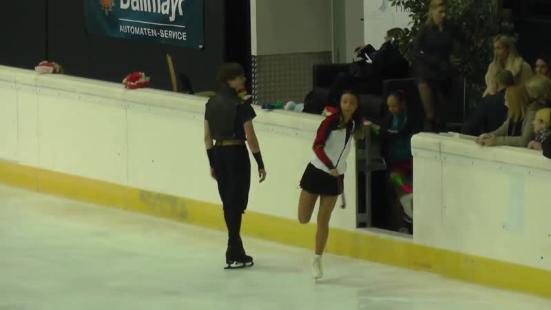 Cup of Tyrol 2019 Deniss on Ice before the medal ceremony (No sound)
