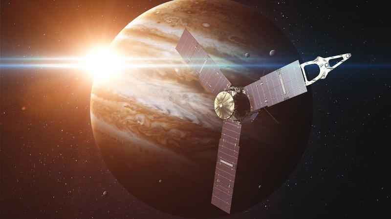 Погружение в облачные слои Юпитера