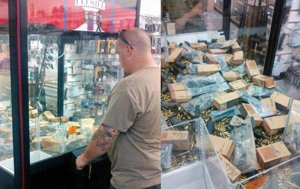 Оружейный магазин. Флорида, США.