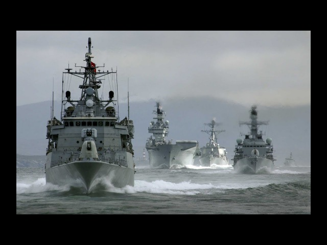 USA Shows Force To North Korea China With Giant US Navy Armada In Action In The Pacific