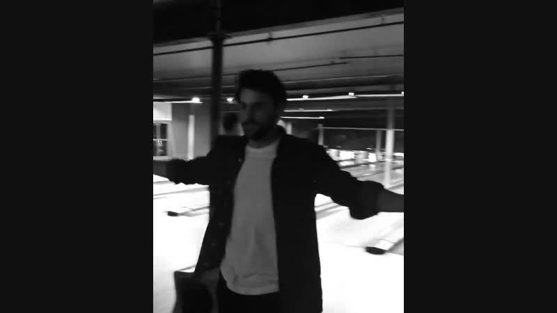 Личные видео / Джек с друзьями в боулинг-клубе, 18.11.2018