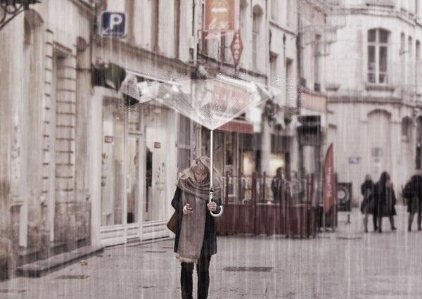 Новый девайс: зонт 2050 года