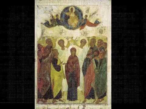 Вознесение. Стихиры на Господи воззвах глас 6 Знаменный распев.