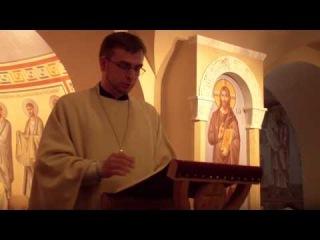 Проповедь о. Алексия Волчкова в Неделю Всех святых.