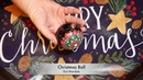 How to paint dot mandalas with Kristin Uhrig 31- Christmas Ball