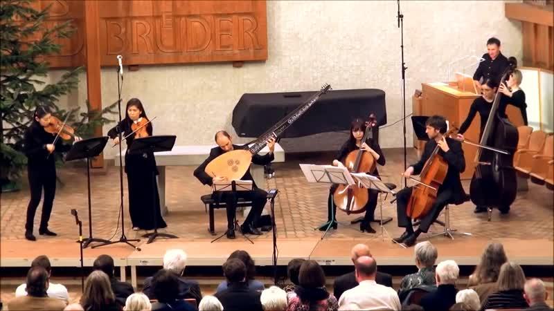 G. F. Händel - Organ Concerto in F major Op. 4 n.4, HWV 292 - Yofin Barockemsemble, Daniela Timokhine, organ