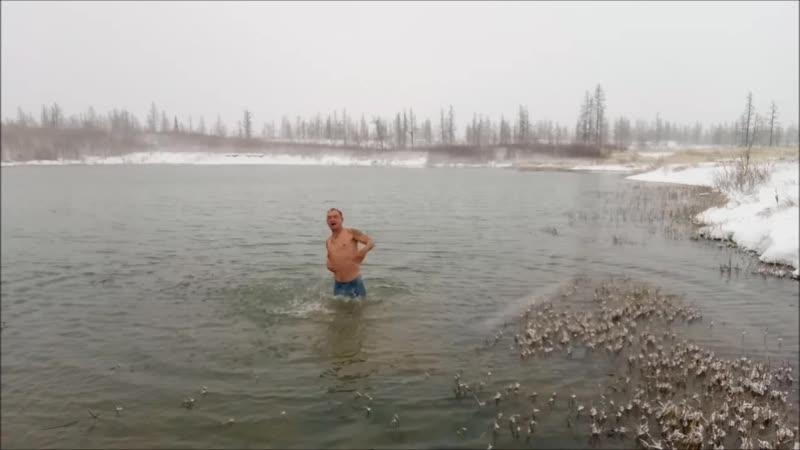 Я открываю купальный сезон на Ямале