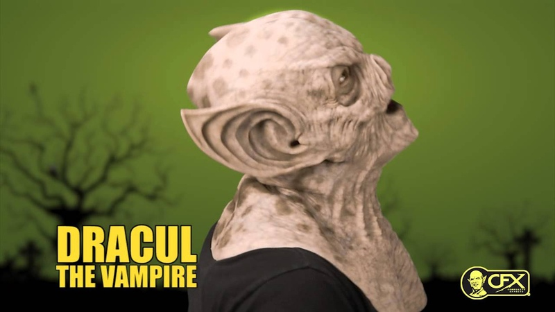 CFX Mask • DRACUL THE VAMPIRE Silicone Mask Try On